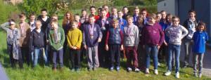 recompense des jeunes au challenge Arques